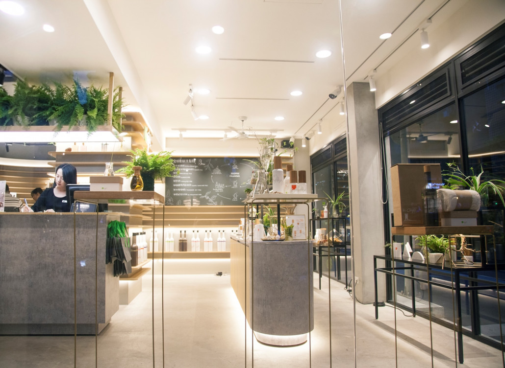 Da-an Concept Store enhances customer experience with lush greenery